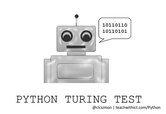 Python chatbot tutorial - teachwithict com