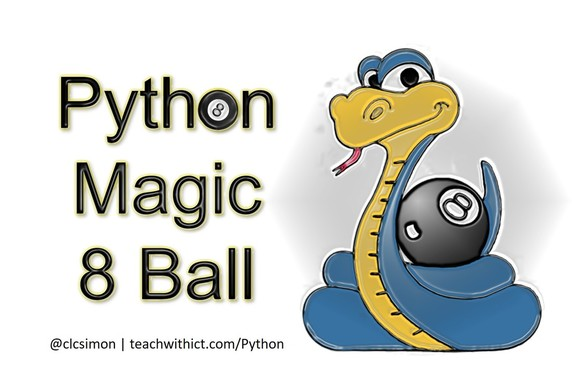 Python Magic 8 Ball Lesson